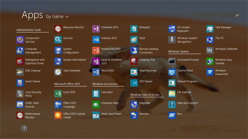 Admin apps (Surface 2)